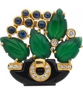 Cartier Tabriz brooch