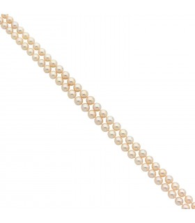 Collier Cartier perles, or et diamants
