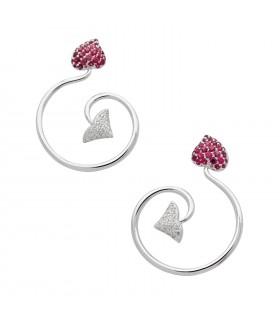 Boucles d'oreilles Dior Diablotine