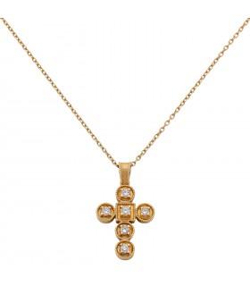 Croix or et diamants Lalaounis