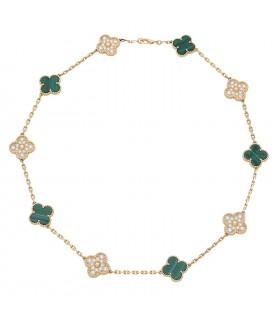 Collier Van Cleef & Arpels Vintage Alhambra