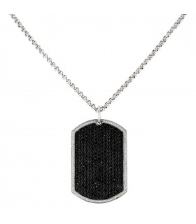 Edouard Nahum Plaque GI  necklace
