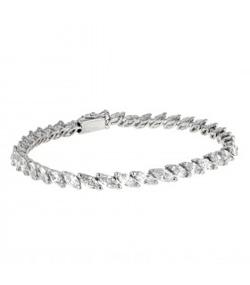 Bracelet or et diamants