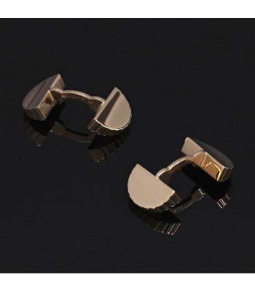 Cartier gold cufflink