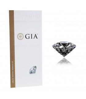 Solitaire Diamant Non Monté - Certificat GIA 1,66 ct E VS2