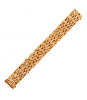 Bracelet or tressé
