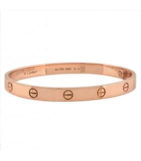 Bracelet Cartier Love Taille 17