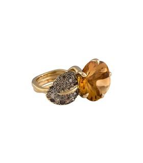 Chanel Camélia Aquatique ring