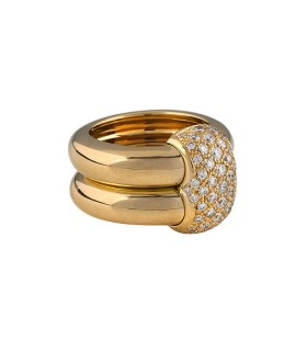 Chaumet Double Anneau Duo ring