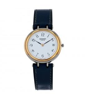 Hermès stainless steel watch