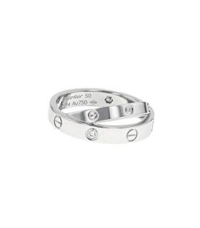 Bague Cartier Love 6 Diamants
