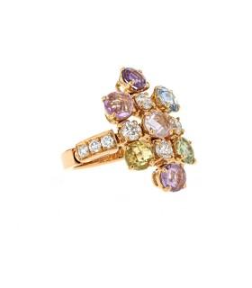 Bulgari Allegra gold ring