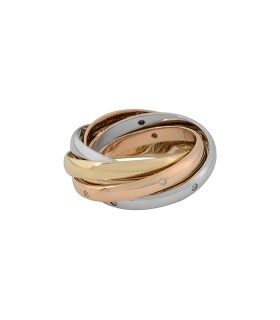 Bague Cartier Two for Trinity