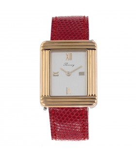 Poiray Ma Première gold and stainless steel watch