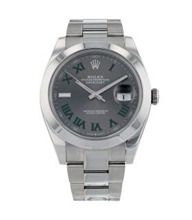 Rolex DateJust stainless steel watch circa 2018