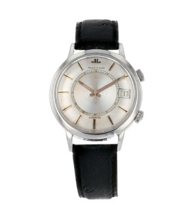 Jaeger Lecoultre Memovox stainless steel watch circa 1960