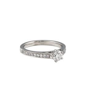 Bague Chaumet Frisson - Diamant 0,33 ct G VVS2