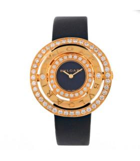 Bulgari Astrale diamonds and gold watch circa 2012