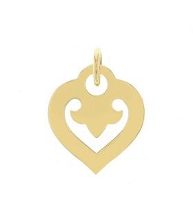 O.J. Perrin Légendes gold pendant