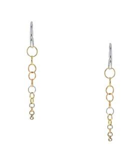 Pomellato Lucciole diamonds and gold earrings