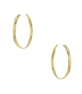 Boucles d'oreilles créoles en or