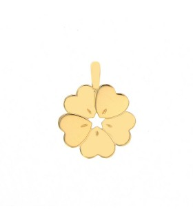 Poiray gold pendant