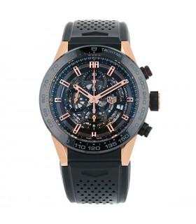 Tag Heuer Carrera Calibre 1 gold and titanium watch