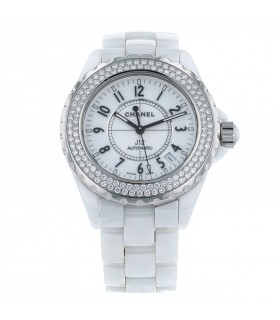 Chanel J12 stainless steel and ceramic watch