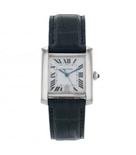 Cartier Tank gold watch