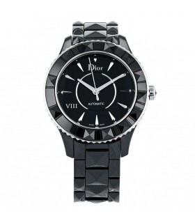 Dior watch stainless steel and ceramic watch
