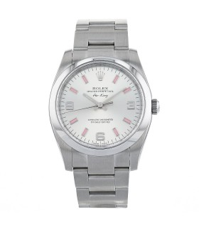Rolex Air-King stainless steel watch