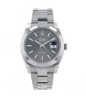Rolex DateJust II stainless steel watch