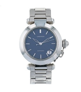 Cartier Pasha C stainless steel watch