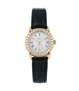 Chopard diamonds and gold watch