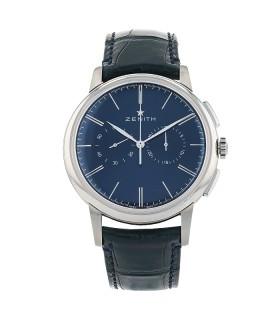 Zenith Elite stainless steel watch