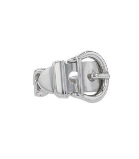 Hermès silver ring