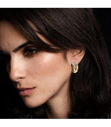 Cartier Trinity gold earrings