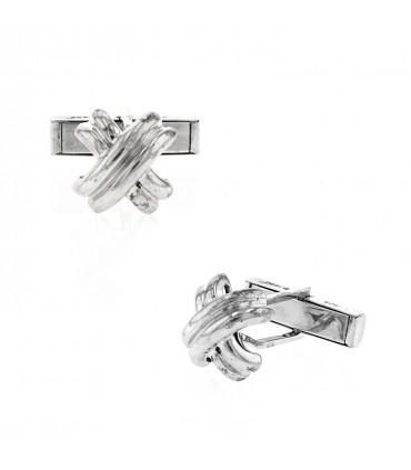 Tiffany & Co. silver cufflinks