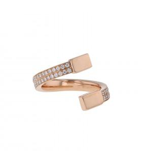 Repossi diamonds and gold ring