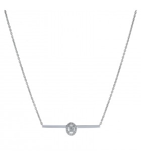 Messika Glam'Azone diamonds and gold necklace