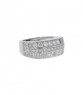 Mauboussin Belles Toujours diamonds and gold ring