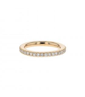 Wempé Blu by Kim diamonds and gold ring