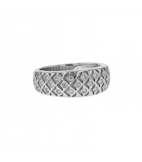 Mauboussin Salomé diamonds and gold ring