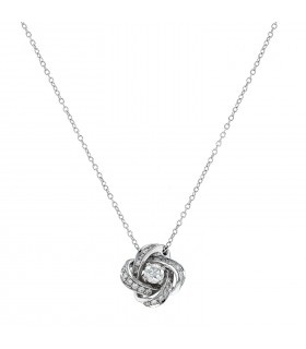 Boucheron Ava Pivoine diamonds and gold necklace