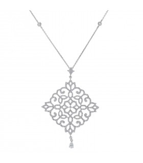 Messika Eden diamonds and gold necklace
