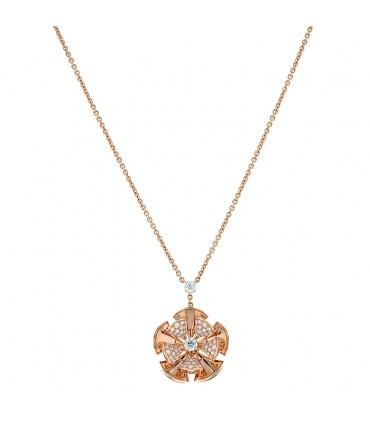 Bulgari Divas' Dream diamonds and gold necklace
