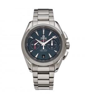 Omega Seamaster Aqua Terra GMT watch