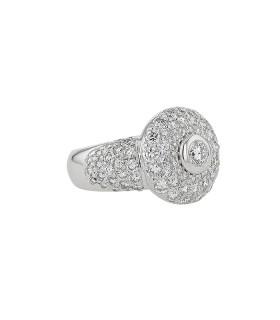 Tabbah diamonds and gold ring