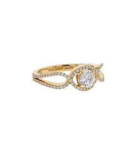 Mellerio diamonds and gold ring