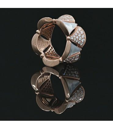 Bulgari Divas' Dream diamonds and gold ring